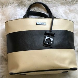 Kate spade bag with stripes